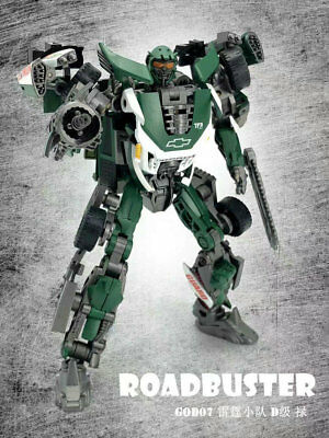 TF Dream Factory D Class GOD-07 Roadbuster PVC Action Figure Robot In Stock
