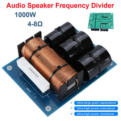 300 Frequency Divider Hi-Fi Subwoofer Audio Speaker Crossover Filters 1000W