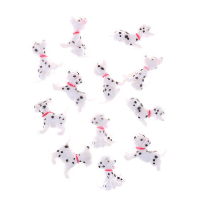 2PCS 1:12 Spotted dog Dollhouse Miniature Toy Doll living room Accessories MTAU