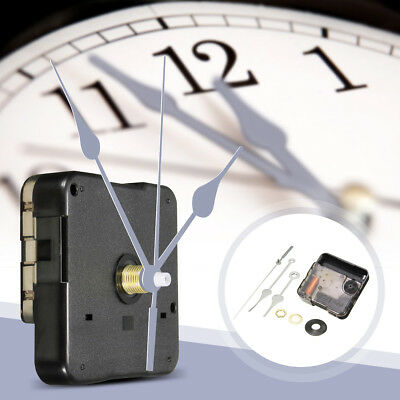 DIY Silver Hands Quartz Clock Silent Mode Movement Mechanism Repair Tool Kit