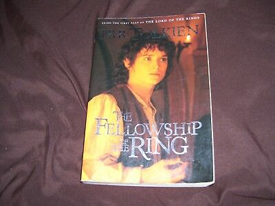 The Fellowship of the Ring by J.R.R. Tolkien, Paperback, Movie edition