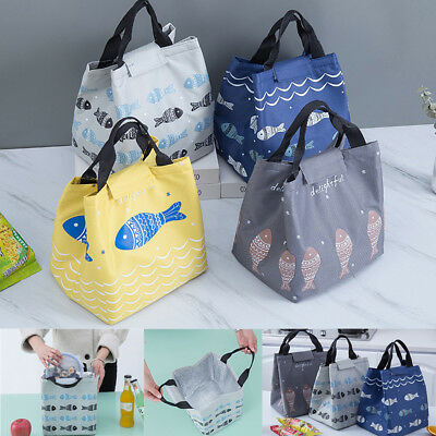 Portable Waterproof Thermal Cooler Insulated Lunch Box Tote Storage Picnic Bag
