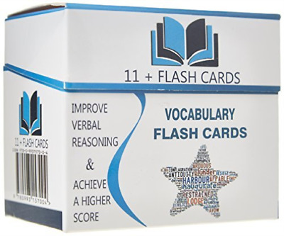 Eleven Plus: Vocabulary Flash Cards BOOK NEW