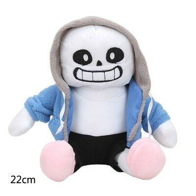 "9""Undertale Sans Plush Stuffed Doll 22cm Toy Hugger Cushion Cosplay Toy Gift Hot"