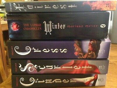 Cinder Book One Of The Lunar Chronicles By Marissa Meyer Used