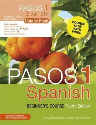 Pasos 1 Spanish Beginner's Course (Fourth Edition) Course Pack 9781473610750