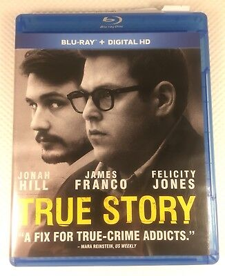 True Story Blu-Ray Very Good With Digital Download James Franco Jonah Hill