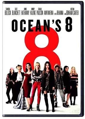 OCEAN'S 8 (DVD,2018) NEW* Action, Comedy. Brand New. fast free US shipping .