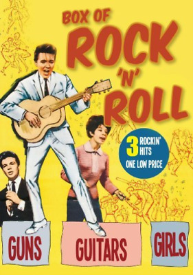 Various-Box Of Rock And Roll (Triple Feature) DVD NEW