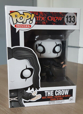 Funko Pop ! Movies - The Crow 133 - Vaulted & Rare