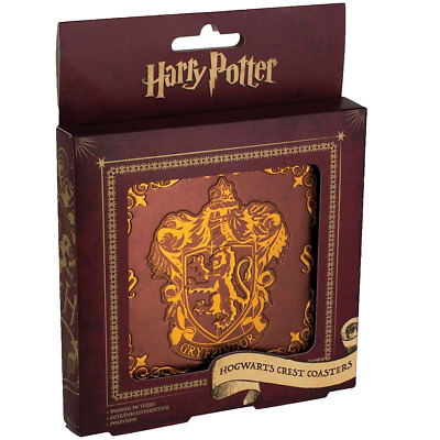 Harry Potter - House Crest Coasters - Loot - BRAND NEW