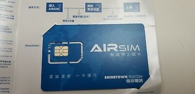 2pcs AirSim Global International Data IoT Traveling Sim Card NO Roaming