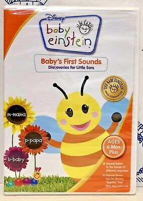 New Disney Baby Einstein Babys First Sounds Discoveries for Little Ears DVD Song