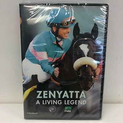 Zenyatta: A Living Legend (DVD) NEW SEALED