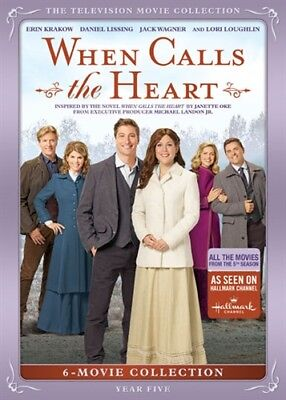 WHEN CALLS THE HEART TELEVISION MOVIE COLLECTION YEAR FIVE 5 New DVD Season 5