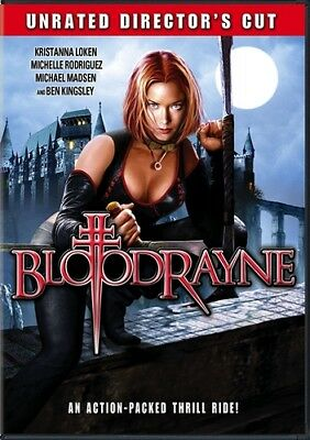 BLOODRAYNE New Sealed DVD Unrated Director's Cut