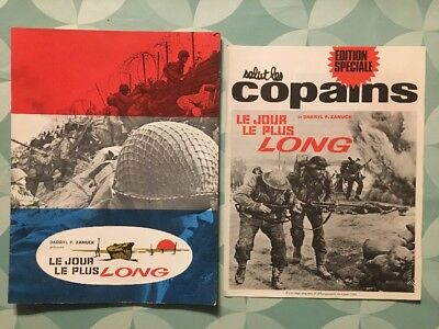 LE JOUR LE PLUS LONG de Darryl F. ZANUCK Press-book 24 pages + Salut les Copains