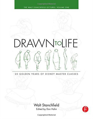 Stanchfield, Walt-Drawn To Life: 20 Golden Years Of Disney Master Class BOOK NEW
