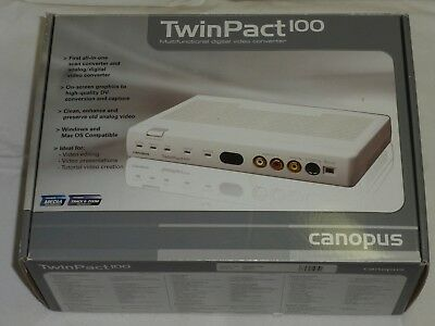 Canopus TwinPact 100 MultiFunctional Digital Analog Video Converter - BRAND NEW!