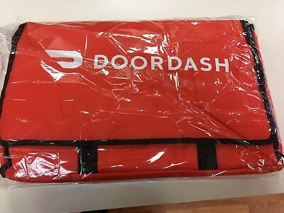 New DoorDash Food Delivery Bag (insulated) Sealed