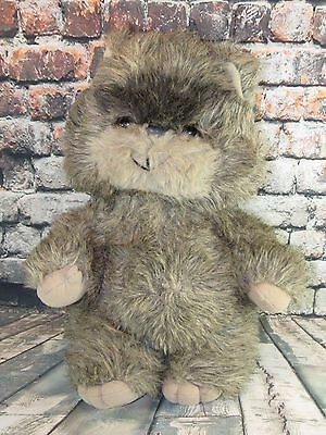 PAPLOO the EWOK plush Kenner 1984 Lucas film Star Wars Vintage Stuffy Doll Movie