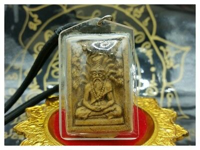 Necklace Hermit Ta Fai Lersi Talisman Sacred Good Lucky Charms Money Thai Amulet