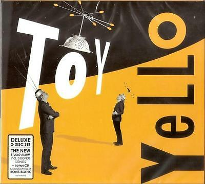 2 CD - Yello Toy -  NEW ALBUM 2016 -   NEW & SEALED!