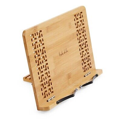 Book Stand Bamboo Reading Rest Cook Book Document Stand Holder Bookrest