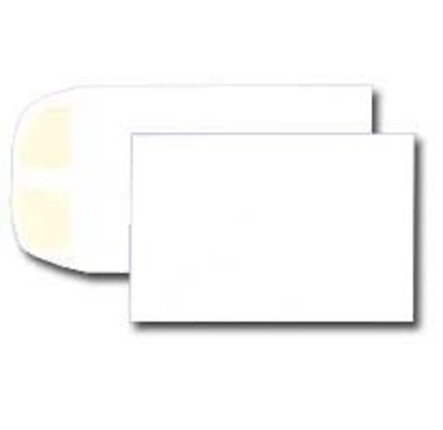 "White No. #1 Coin Envelope - Small Open End - 2 1/4"" x 3 1/2"" inches - Bx / 1000"