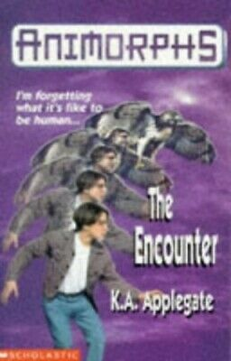 The Encounter (Animorphs) by Applegate, Katherine Paperback Book The Fast Free