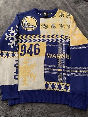 6b0eee10a NEW! - NBA Golden State Warriors Ugly Christmas Sweater Multiple ...