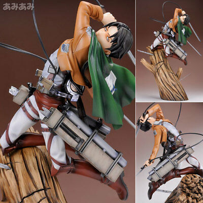 Kotobukiya ARTFX J Attack on Titan Levi Renewal Package ver. 1/8 Complete Figure
