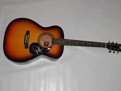 Dwight Yoakam Signed Full-Size Natural Acoustic Guitar Country Legend Jsa Coa