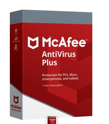 McAfee Antivirus Plus 2019✓FULL VERSION✓PC,MAC,ANDRIOD,iO✓1 YEAR LICENSE✓SUPPORT