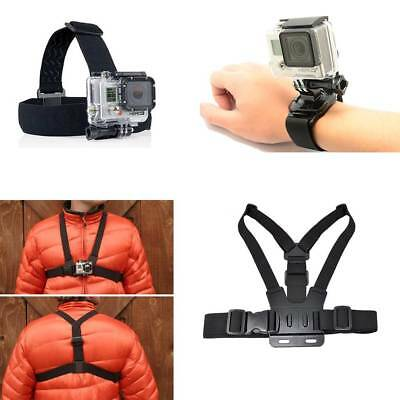 Body Mount Belt Chest Strap Headband Strap Wrist Strap for GoPro HERO 1 2 3 3+ 4