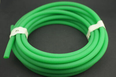Green Polyurethane Conveyor Belts PU Round Drive Belt Meltable Cord Dia 2mm-18mm