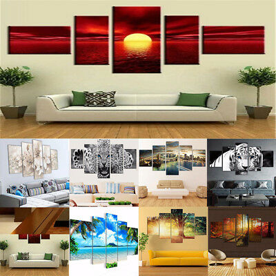 Unframed Modern Art Oil Paintings Print Canvas Pictures Home Wall Decor NEW