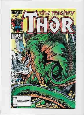 THE MIGHTY THOR 341 - March 1984. Walt Simonsson - Near Mint + 9.6 or above.