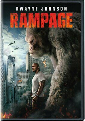 Rampage DVD. NEW, FREE DELIVERY