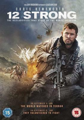 12 Strong DVD NEW, FREE DELIVERY
