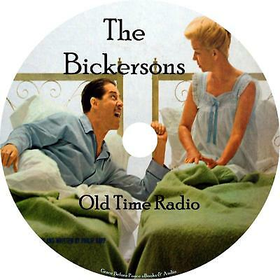 The Bickersons Old Time Radio Show OTR 60+ Episodes on 1 MP3 CD Free Shipping