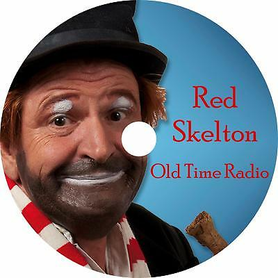 RED SKELTON OLD Time Radio Shows Mp3 Cd Comedy Classics - $7 99