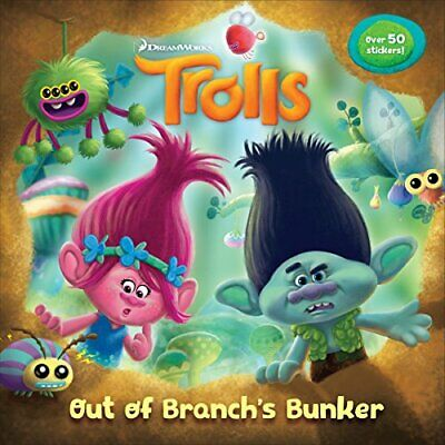 Trolls Deluxe Pictureback with Stickers (DreamWorks Trolls) (... by Random House