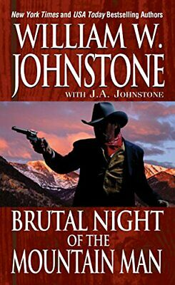 Brutal Night of the Mountain Man by William W. Johnstone Book The Cheap Fast