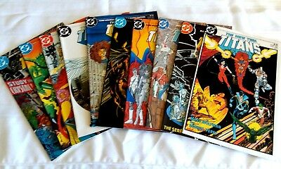 The New Teen Titans (1984 Series) 1 2 3 4 5 6 7 8 9 10  NM LOT!!