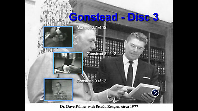 Gonstead Chiropractic DVDs 12+ hours of videos of the man himself.