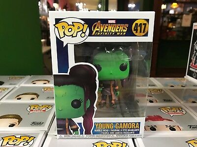2018 Funko POP! Marvel Avengers Infinity War  YOUNG GAMORA #417 Figure NIB