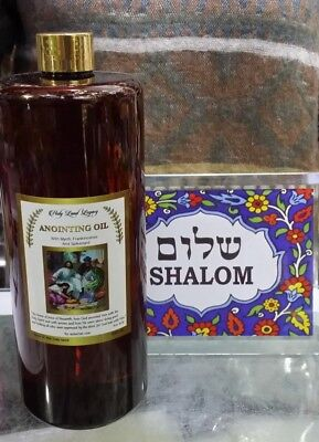 Israel Anointing Oil Frankincense of the Temple Jerusalem 1000ml,33.8 oz!!!