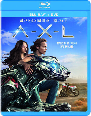 A.X.L. [New Blu-ray] With DVD, Widescreen, 2 Pack, Snap Case, Subtitled