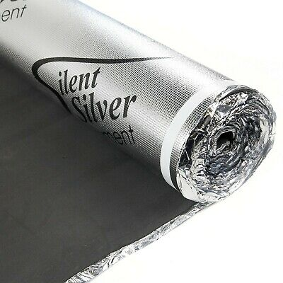 IncStores Silent Silver Underlayment -  Great For Laminate, Engineered wood, LVT